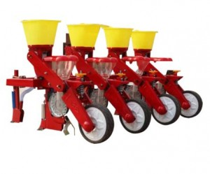 Tractor Maize Seeder Drill 4 Rows Corn planting machine
