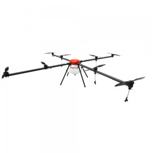 RTK crop Plant protection uav drone for agricultural spraying