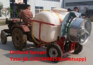 wheel type orchard sprayer 2000L capacity