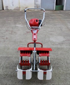 Agriculture tool mini weeder rice weeding machine paddy weeder machine 2rows rice weeding machine paddy field weeder